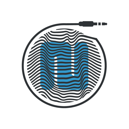 N with sound waves and audio cord, Nootka Sound logo