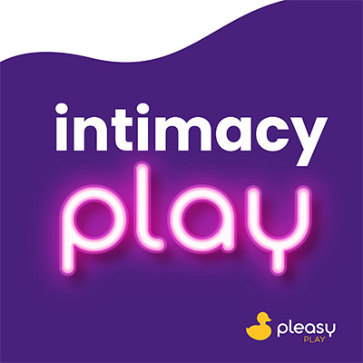 Intimacy Play by Pleasy Play Podcast Cover Art